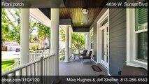 4830 W Sunset Blvd Tampa FL 33629 - Mike Hughes  Jeff Shelton - Coldwell Banker  Tampa SW
