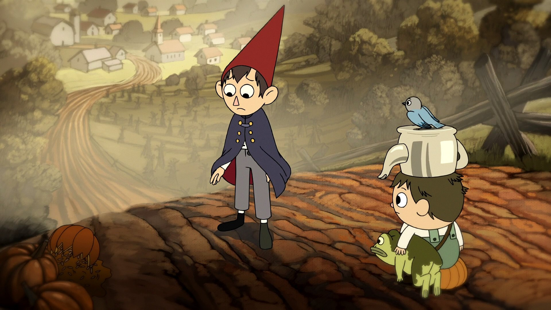 Over The Garden Wall Episode 2 Chapter 2 Hard Times At The Huskin Bee Hd