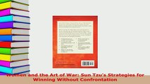 PDF  Women and the Art of War Sun Tzus Strategies for Winning Without Confrontation  EBook