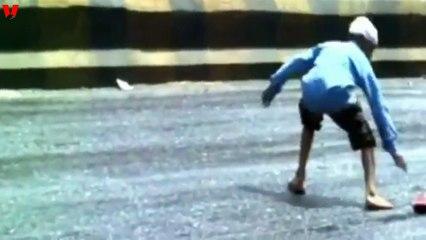 Intenso calor derrite las calles de India