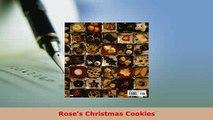 Download  Roses Christmas Cookies Download Full Ebook