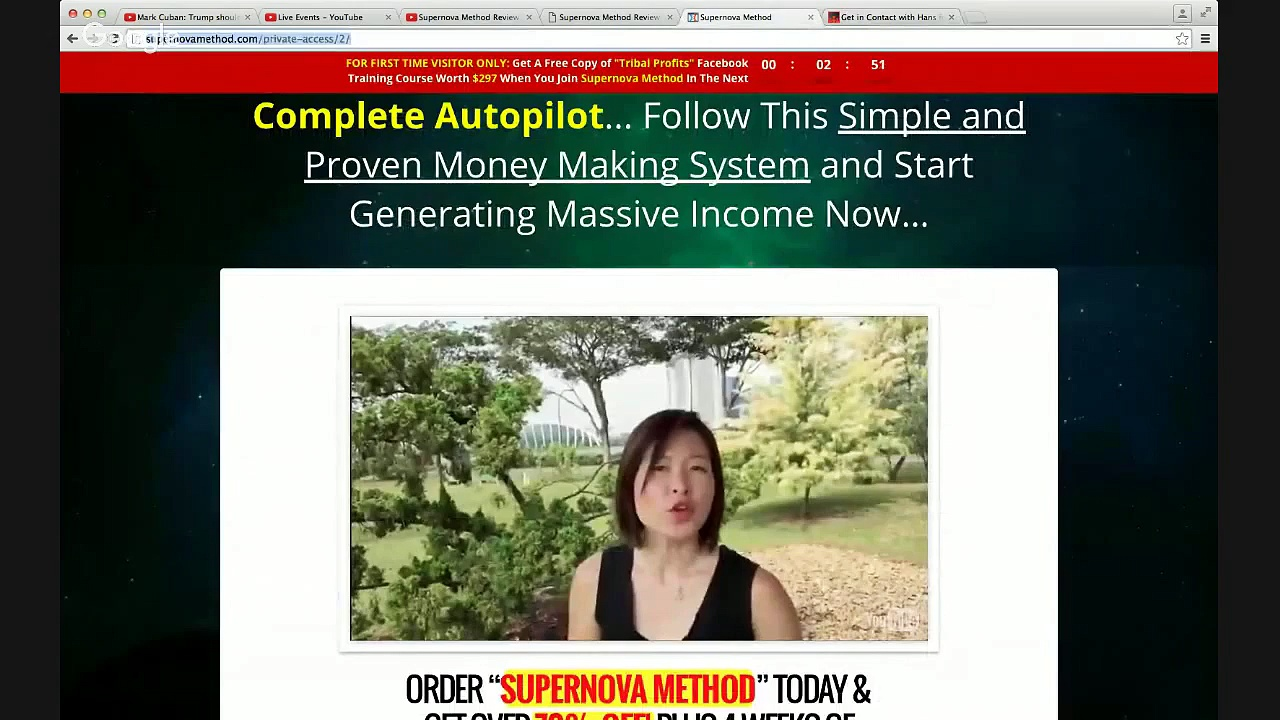 Supernova Method Bonus [How to prevent the…] Supernova Method Bonuses