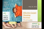 Effective Carpet Cleaning Service from Jenas Carpet Cleaning Company
