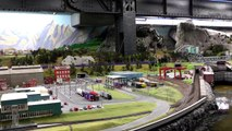 HO Scale modelljarnbane Norway and Sweden, Miniatur Wunderland Hamburg, 17 JAN 2014