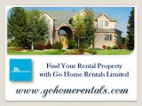 Find Your Rental Property with Go Home Rentals Limited