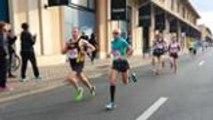 Les premières foulées du semi-marathon