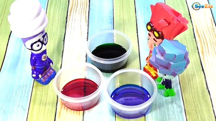ФИКСИКИ. Мультик с игрушками. Нолик, Игрек и Шпуля. Проводим опыт с молоком и красками. Серия 21