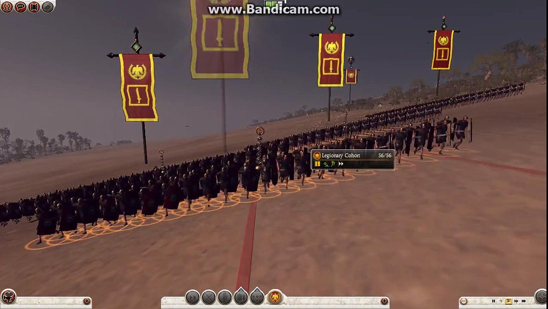 Rome 2 Total War - Rome 800 Soldiers Vs. Indian War Elephants