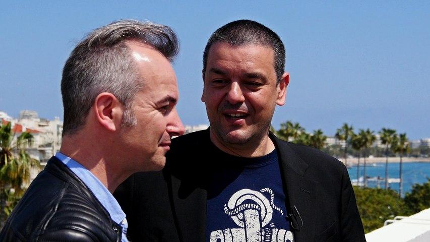 Olivier Daviaud, compositeur et Joann Sfar, réalisateur - Festival de Cannes 2016