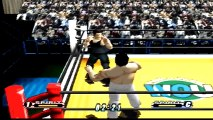 Virtual Pro Wrestling 64 Yoji Anjoh vs Shiro Koshinaka