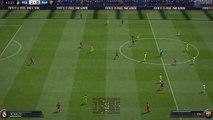 FIFA 15 - 23 passes, GOOOL, then rage quit.