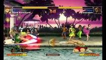 Super Street Fighter II Turbo HD Remix - XBLA - Lord Kasutera (Guile) VS. Caucajun (Sagat)