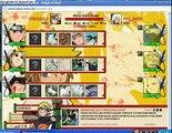Naruto arena + 26 streak team ,Naruto S, Temari, Kiba