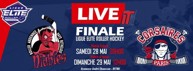 LIGUE ELITE - FFRS - Bande Annonce Finale Retour Rethel - Paris 28-05-2016