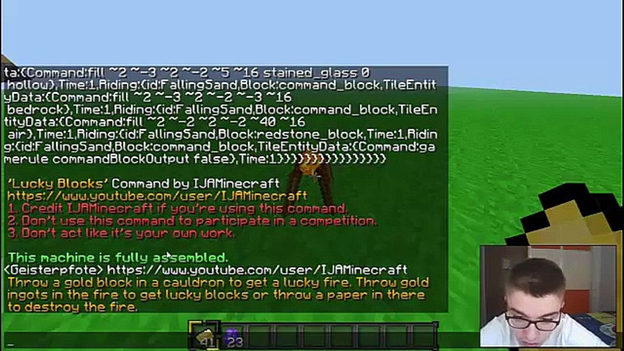 Minecraft Lucky Block Command - TÜRKÇE - video Dailymotion