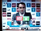 Sporting - Carlos Carvalhal não sabe se Liedson marcou 1 ou 2 golos 16.1.2010.MPG