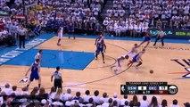Durant Steals, Westbrook Dunks | Warriors vs Thunder | Game 4 | 2016 Western Finals