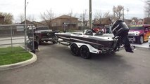 HILLYARD CUSTOM RIM&TIRE 20 FT BASS CAT BOAT WITH 20 INCH RIMS &TIRES