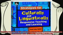 best book  Strategies for Culturally and Linguistically Responsive Teaching and Learning