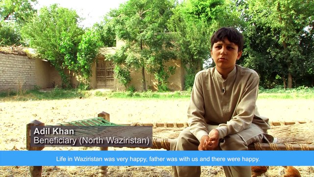 WFP cash assistance to vulnerable families in Bannu