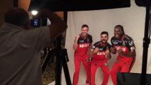 IPL 2016 | Virat Kohli Ab de villiers Chris Gayle funny photo session