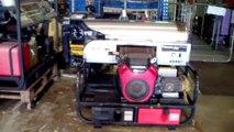Upgrading to a Hydro Tek 3500 PSI @ 8 GPM 27 HP hot water pressure washer. Dan Swede 800-666-1992