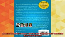 free pdf   Transformational Literacy Making the Common Core Shift with Work That Matters