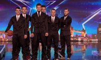Dunking Devils score a slam dunk with the Judges Auditions Week 7 Britain's Got Talent 2016