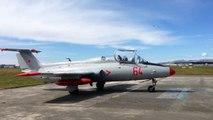 ニュージーランド L-29 Delfin ジェット機フライト エンジン始動