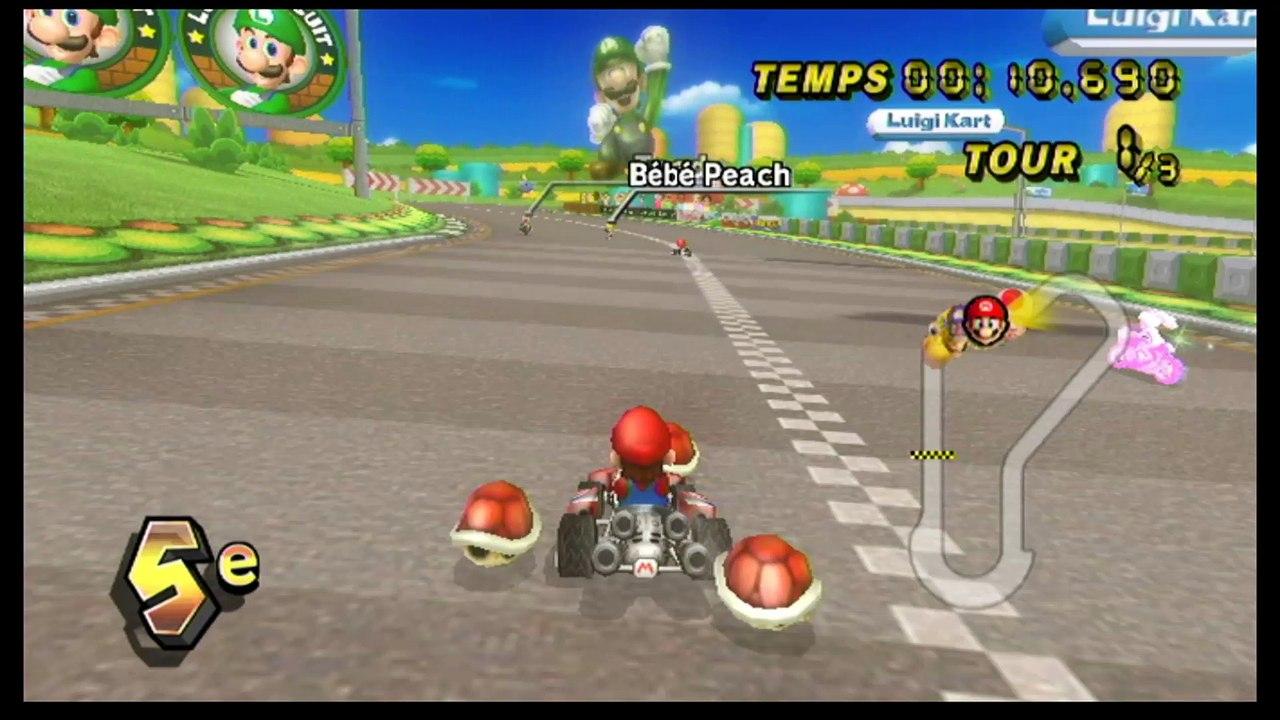 Mario Kart Wii Circuit Luigi