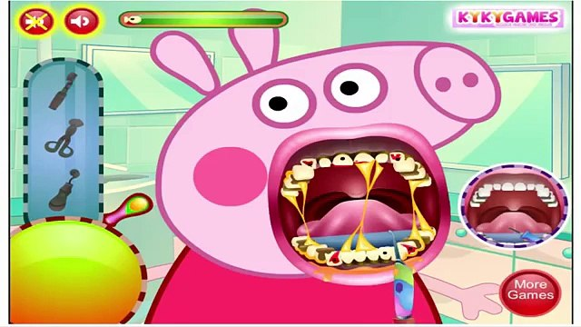 Peppa Pig Game  Peppa Pig no Dentista  Peppa Pig Dentist  Gameplay