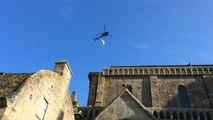 Le retour de l archange au Mont Saint Michel