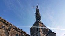 Retour de l'archange au Mont-Saint-Michel