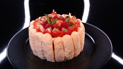 Charlotte aux fraises et aux framboises par Emmanuel Ryon (#DPDC)
