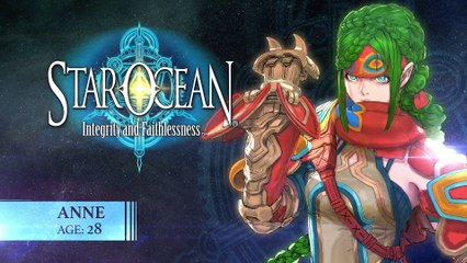 Anne spotlight de Star Ocean 5 : Integrity and Faithlessness