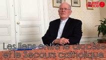 Secours catholique, les liens avec le diocèse