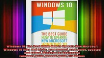 new book  Windows 10 The Best Guide How to Operate New Microsoft Windows 10 tips and tricks user