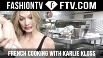 Karlie Kloss Tries Cooking at Cannes - L'Oreal  | FTV.com