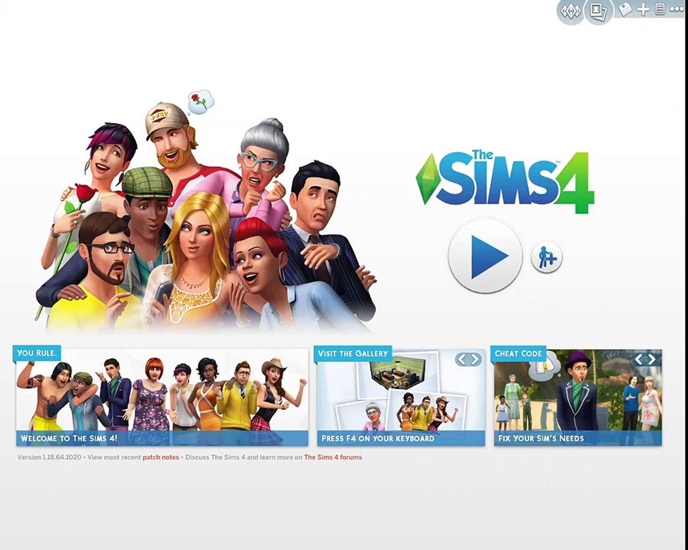 Sims 4 ep 1