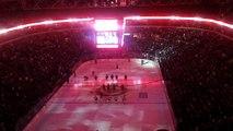 TRUE NORTH! Canadian Anthem - NHL Winnipeg Jets vs. Ottawa Senators 2011-11-29 MTS Centre