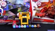 ) Micro Drifters Radiator Springs Drift Challenge Track Playset Cars 2 Disney Drifting Racing