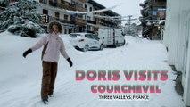 Courchevel, Doris Visits the French ski resort