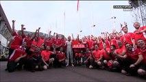 Philippe Bianchi au micro de Canal Plus - F1 GP Monaco EL2