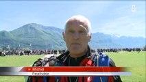 Congrès national des parachutistes : Rencontre avec Michel