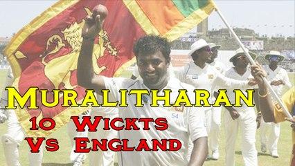 Muttiah Muralitharan 10 Wickets Vs England 10 Wickets