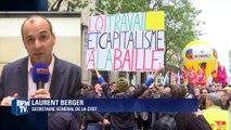 """Loi Travail: """"Pas d'inversion de la hiérarchie des normes"""", selon Laurent Berger"""