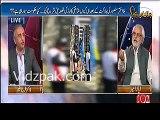 Bank waale loan dete waqt aap jaisi smart khatun bitha dete thay :- Ayaz Amir to Female Anchor--Watch her reaction
