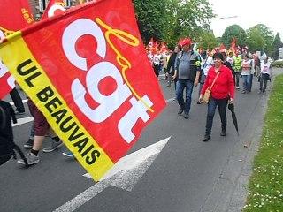 Beauvais : manifestation contre la loi travail