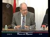 Roma - Audizione Sottosegretario Giacomelli (25.05.16)