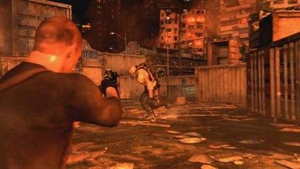 Resident Evil 6 - Vídeo ingame con una sección de Jake (en inglés)